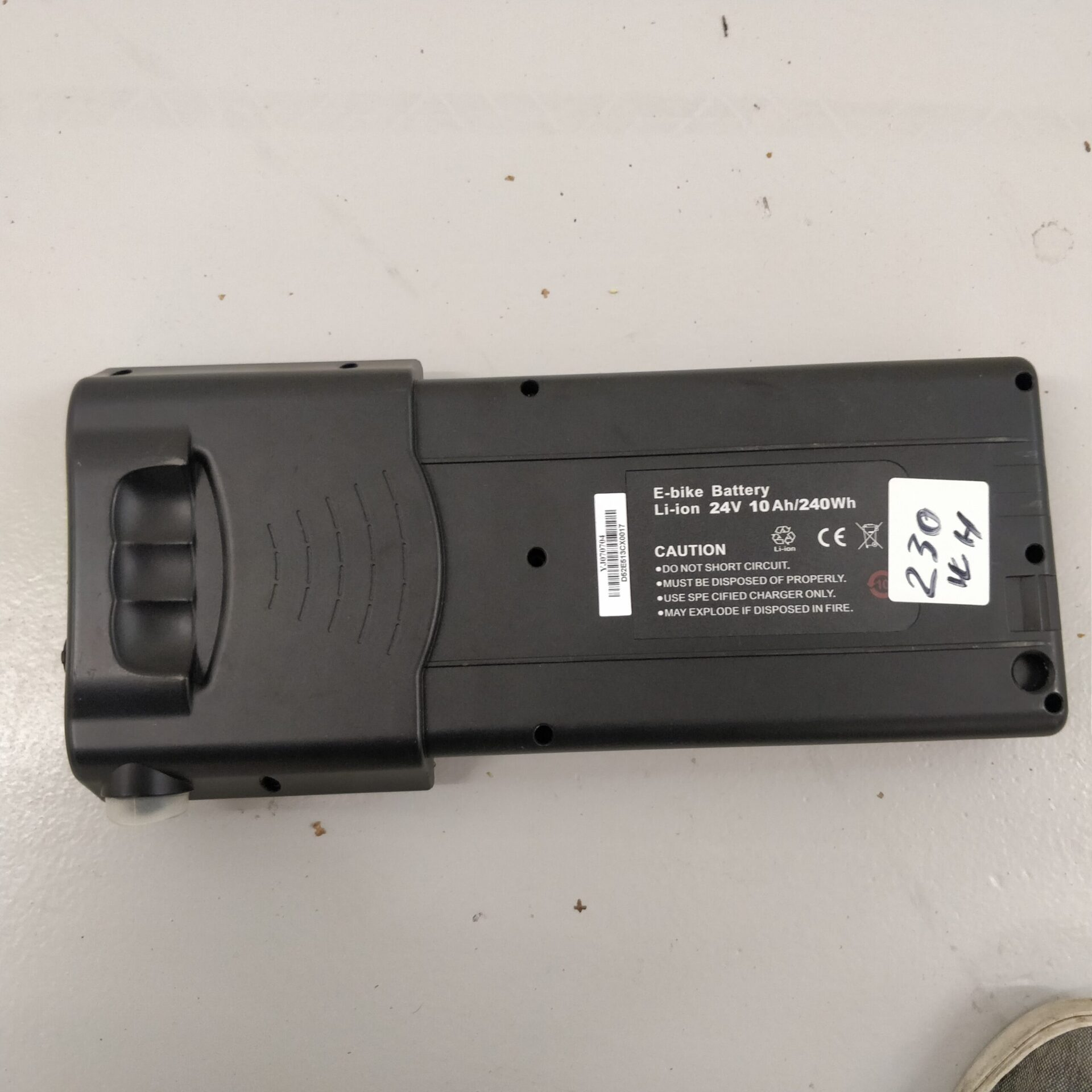 elcykel batteri