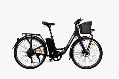 El-cykel Urbanglide H1 - sort